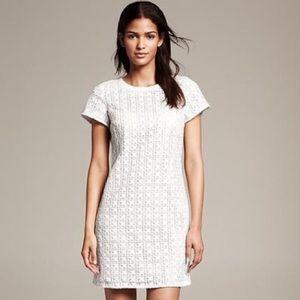 Kate Spade White Eyelet Dress